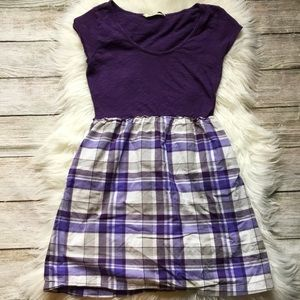 Plaid Mini Dress by Old Navy